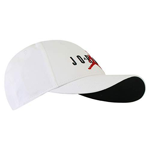Nike  Hat Jordan L91 JM AIR HBR, White/White/Black/(Gym red), MISC, CK1248