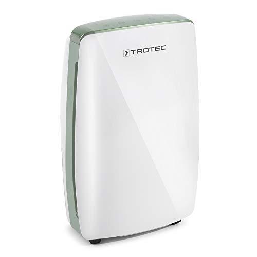 TROTEC Design Luftentfeuchter TTK 68 E (max.20 L/Tag), geeignet für Räume bis 110 m³ / 45 m² inkl. Timer-Funktion, Dreistufiges Gebläse, 4 Liter Auffangbehälter, Hygrostatsteuerung
