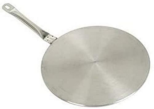 IBILI Induktions-Adapterplatte Prisma 28 cm aus Edelstahl, Silber, 28 x 28 x 10 cm