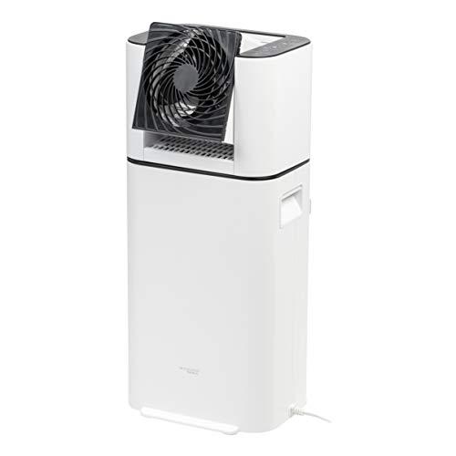 IRIS USA, Inc. DHM-DDC50 WOOZOO Dehumidifier with Circulator Fan, White
