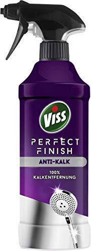Viss Perfect Finish Spezialreiniger für mühelose Kalkentfernung Anti-Kalk mit leichter Handhabung, 6er Pack (6 x 435 ml) 8710447376928