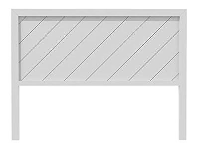 materiales: madera de pino insigni medidas: 145x120x3(ancho,alto,grueso) acabado: blanco nordico colgadores incluidos