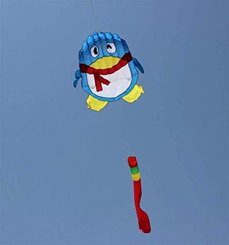 Forte e Robusto Aquilone, Colorati Bambini Kite Belle Aquiloni for Kids Facile da pilotare for la Spiaggia Outdoor Scheletro Duro (Colore: Colore) (Color : Blue)