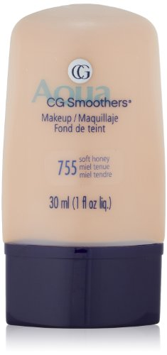 COVERGIRL CoverGirl Smoothers liquide Make Up, Honey, doux 755 paquets 1 onces (pack de 2)