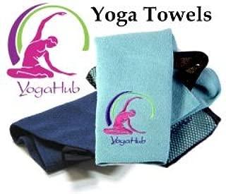 Amazon.com : Microfiber Yoga / Pilates Towel (Seafoam Green ...