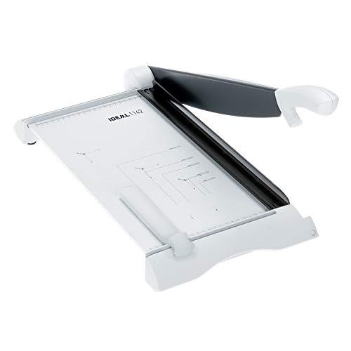 IDEAL 1142 Schneidemaschine, Hebelschneider, Papierschneider bis DIN A3 (250 x 430 mm, Schnittlänge 430 mm, 15 Blatt Kapazität)