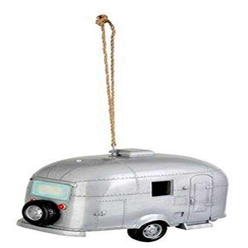 Red Carpet Studios Birdie in The Woods Birdhouse Silver Camper