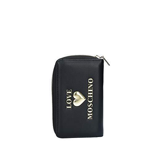 Love Moschino JC5611PP0BLE0, Portafogli Donna, Nero, Normale