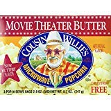 Review Of Cousin Willies Movie Theater Butter Microwave Popcorn 8.7 Ounces (Pack of 3)