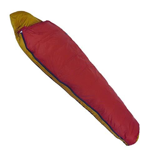 NANGA(ナンガ) 寝袋 アウトレット訳ありダウンシュラフ450ショート 下限温度-8度 ガーネット 右ジッパー