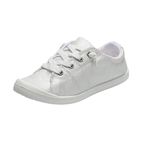 Beudylihy Zapatos para mujer, hombre, niño, niña, zapatos de moda, zapatos de ocio, zapatos de lona, color, talla 41 EU