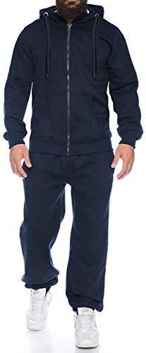 COOFANDY Men s Athletic Tracksuit Full Zip Comfy Warm Jogging Sweat Suits Slim Fit Young Track product image