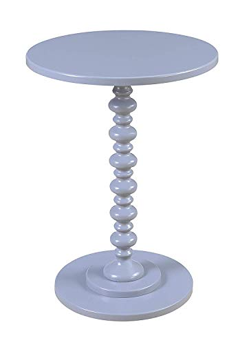 Convenience Concepts Palm Beach Spindle Table, Gray