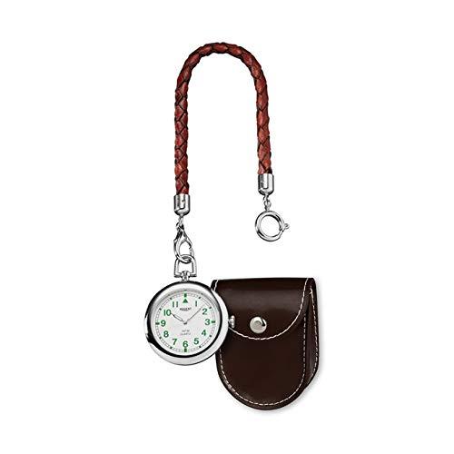 Regent URP039 - Reloj de Bolsillo analógico con Esfera de Cuarzo, Color Blanco