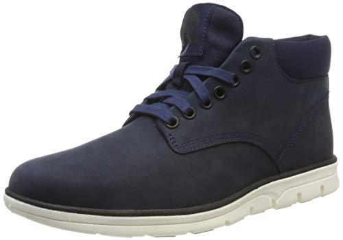 Timberland Bradstreet Leather Sensorflex, Botas Chukka para Hombre, Azul (Dark...