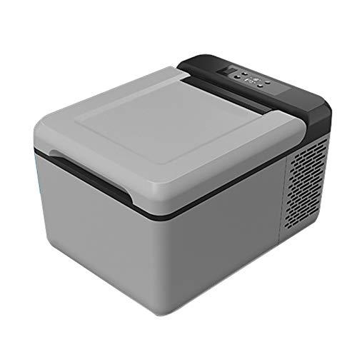 yunyun 9L Refrigerador para Coche,Nevera Eléctrica De Viaje,reducción De Ruido De Graves Nevera Eléctrica Portátil,refrigeración hasta -20 ° C,12 V/220 V para Coche Y Casa