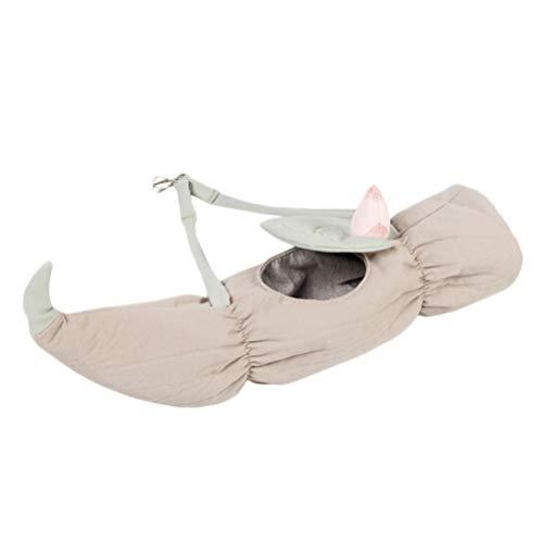 Balacoo Huisdier Hamster Hangmat Kleine Dieren Katoenen Kooi Slaapnest Huisdier Bed Rat Hamster Speelgoed Kooi Schommel (Lichtroze Grijs)