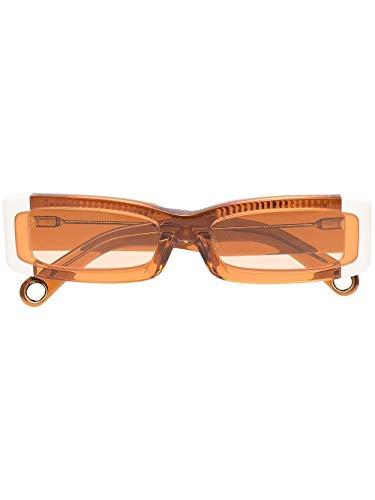 JACQUEMUS Moda De Lujo Mujer 211AC07211503071 Naranja Acetato Gafas De Sol | Temporada Permanente