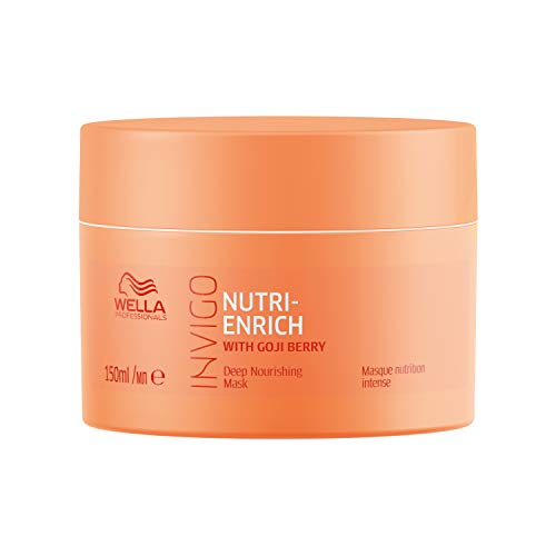 Wella Professionals Invigo Nutri Enrich Deep Nourishing Mask (For Dry and Damaged Hair), 150 ml