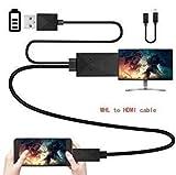 HDMI 5 Pines o 11 Pines Micro USB mhl HDTV Cable Compatible para la función MHL Adaptador Tablet PC y el teléfono Android Negro