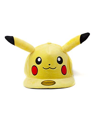 Pokemon - Pikachu Plush Snapback [ ]