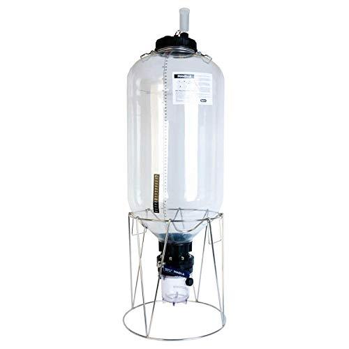 FermZilla - Recipiente para fermentación cónico, 55 litros, Paquete de Inicio, para Aficionados a la Cerveza, vererir y piñas, sin contaminación de oxígeno, para la fabricación del hogar