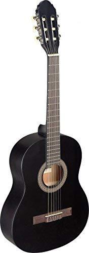 Stagg C4303/4Größe Name Klassische Gitarre–Schwarz 3/4 schwarz