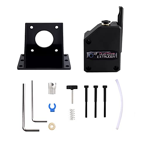 Montloxs 3D Printer Parts Upgraded Dual Drive BMG Extruder 1.75mm High Performance Compatible with Cre-ality CR10 Ender 3 Series Wanhao D9 Anet E10 Geeetech A10 and Other DIY 3D Printer