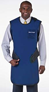 1000848 Wolf X-Ray Easy Wrap X-Ray Apron Navy Blue Ea 65023-22 Sold AS Individual