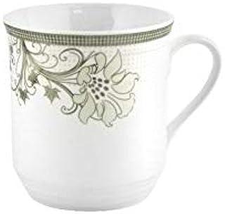 Royalford 13Oz Ceramic Bone Wave Coffee Mug - Large Coffee & Tea Mug, Traditional Extra Large Tea Mug, Thick Wall Small Po...