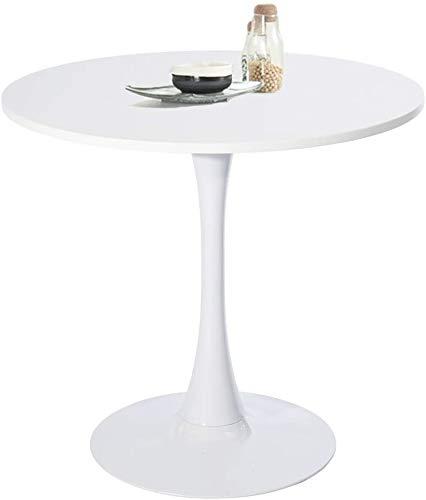 Tavolo Tondo Tavolino Da Caffè Rotondo Madeja M In Legno Gambe In Acciaio Ideale Per...