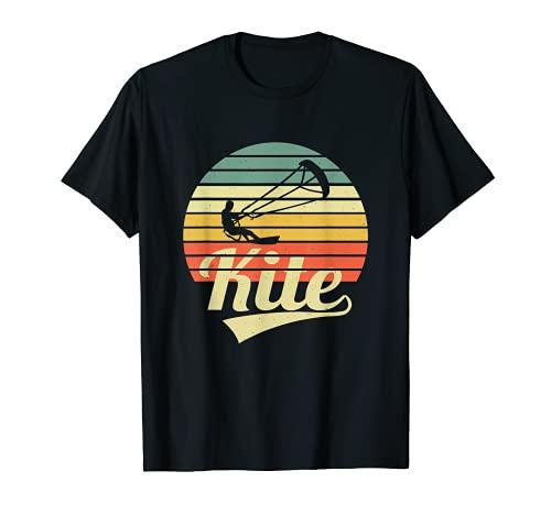 Kite Surfer Vintage T-Shirt Kitesurfing Kitesurfer Kiter Camiseta