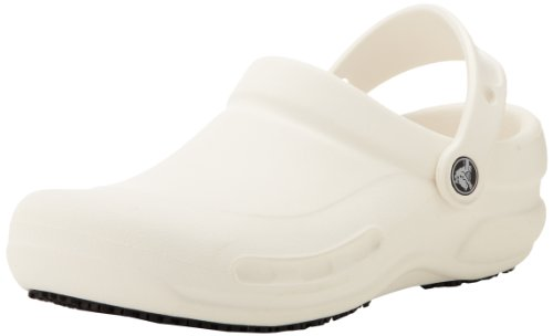 Unisex Crocs Bistro–Zuecos, Blanco (Blanco), M10W12