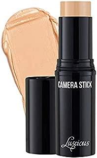 Luscious Cosmetics Camera Stick Foundation by Luscious Cosmetics | Full Coverage Cream Foundation | Super blendable & Hydrating Formula | Cruelty-Free and Vegan Makeup (2.5 Medium Beige)