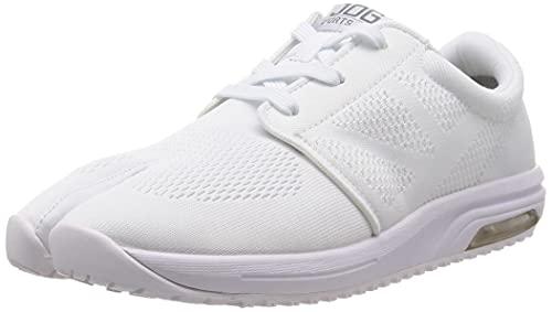 [マルゴ] スニーカー 足袋型トレーニングシューズ スポーツジョグAIR 白 26.5 cm 2E