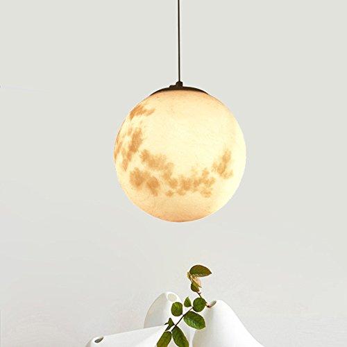 ZHFC-la décoration minimaliste, nordic bille de verre restaurant, lustre, rétro - personnalité chambre, art ball, lune lustre,diamètre 700mm