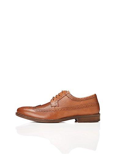 find. Zapatos Brogue Hombre, Marrón (Tan), 44 EU