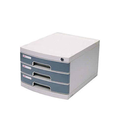 BRIGHTZ Clasificador de cajón, gabinete de escritorio de limpieza bajo llave Recibo cajón del gabinete de datos Periódico Bastidores Stationery Office Caso Gabinete 6-Layers (12.1in * * 15.8in 17.3in)