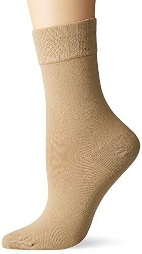 Nur Die Damen Bambus Komfort Socken, Beige (leinen 615), 35/38