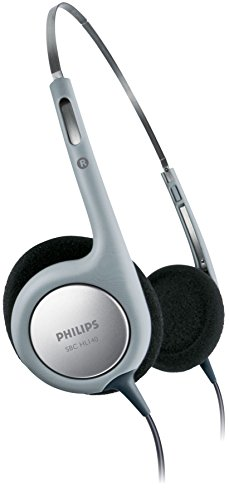 Philips SBCHL140/10 Ultra Lightweight On-Ear Cabled Headphones