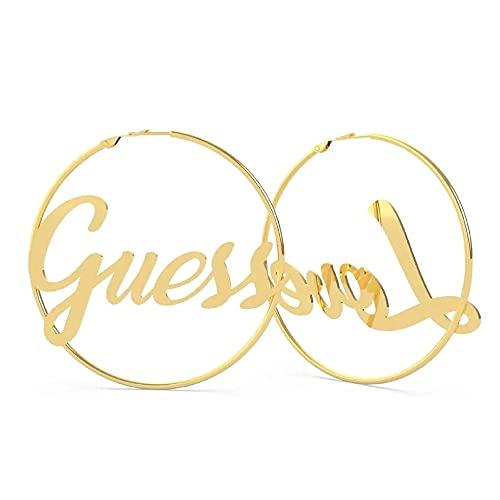 "Pendientes Aro mujer Logo Guess Jewellery "" Dream & Love"" UBE70116 (Dorado)"