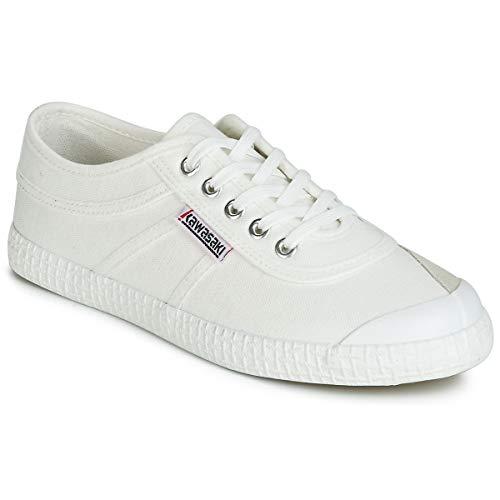 Kawasaki ORIGINAL sneakersy męskie białe sneakersy niskie, biały - biały - 45 EU