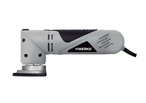 Werku Wk400070 - Lijadora triangular / 90 mm / 300