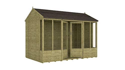 Project Timber 10ft x 6ft Pressure Treated Hobbyist Summerhouse (10 x 6)