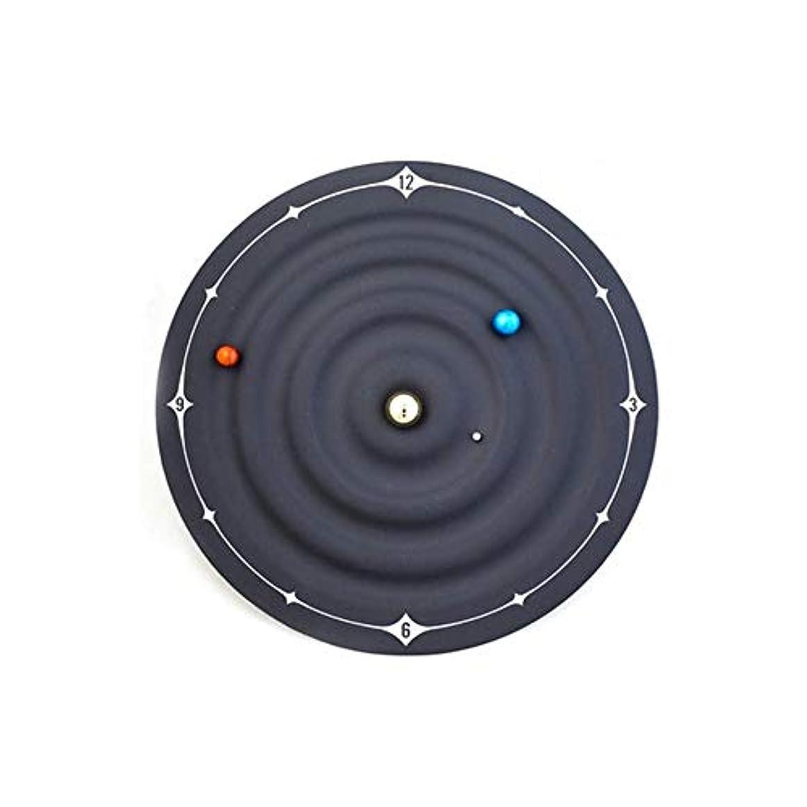 ほめる置き場禁じる隠しモーターマグネットGalaxy Magnetic Clock Galaxy Magnetic Clock Wall(Black)