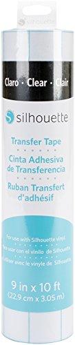 Silhouette America Clear Transfer Tape 22,9cm x 3m
