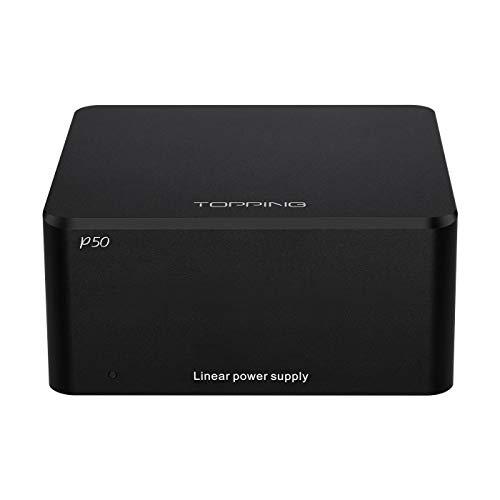 TOPPING P50 Alimentatore lineare per guarnizioni D50 / D50s / DX3 Pro / A50 110V-240V (Nero)