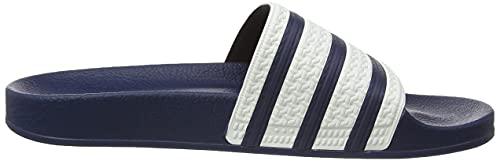 adidas Adilette Ciabatte, Blue (Adiblue/White/Adiblue), 10 UK (44 1/2 EU)