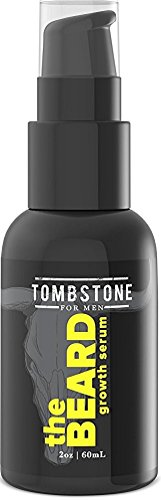 Tombstone The Beard Growth Enhancing Serum - Grow Richer, Fuller, Longer Looking and Softer Facial Hair - Best for Vegan Beard Care Products 2 oz