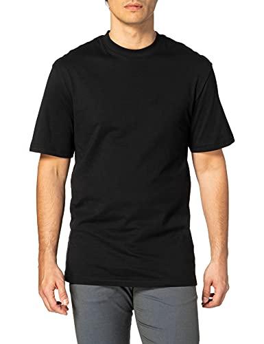 Urban Classics Tall tee Camiseta, black, 4XL para Hombre